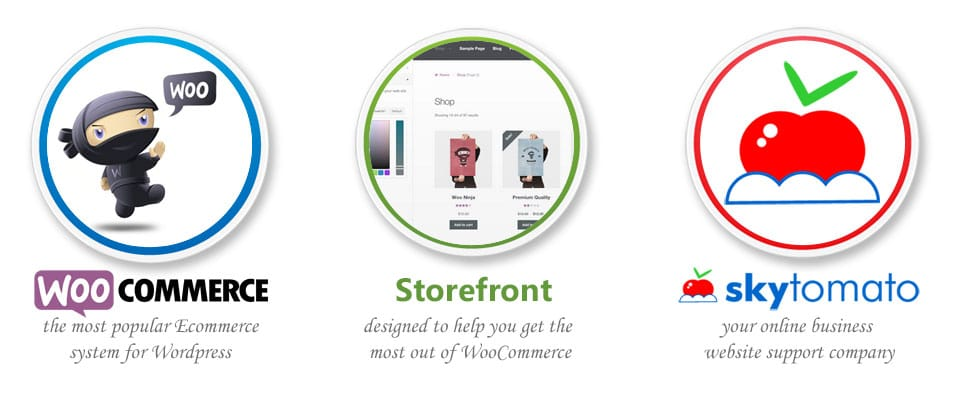 WooCommerce business website from Skytomato