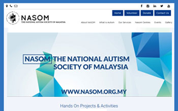 National Autism Society of Malaysia - Web Design in Malaysia