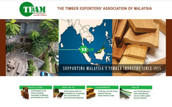 Timber Exporters' Association of Malaysia - Web Design in Malaysia