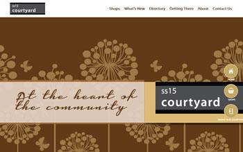 SS15 Courtyard Shopping Mall - Web Design in Malaysia