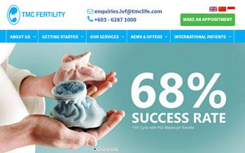 TMC Fertility - Web Design in Malaysia