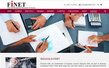 Finet Global - Web Design in Malaysia