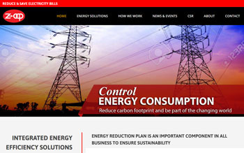 Z-CEP Energy - Web Design in Malaysia