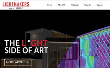 Lightmakers (Tropics Gallery) - Web Design in Malaysia
