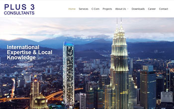 Plus3 International - Web Design in Malaysia