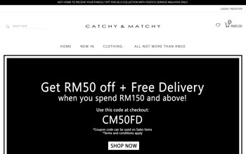 Catchy Matchy - Web Design in Malaysia