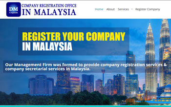 DM Corporate Register Company - Web Design in Malaysia