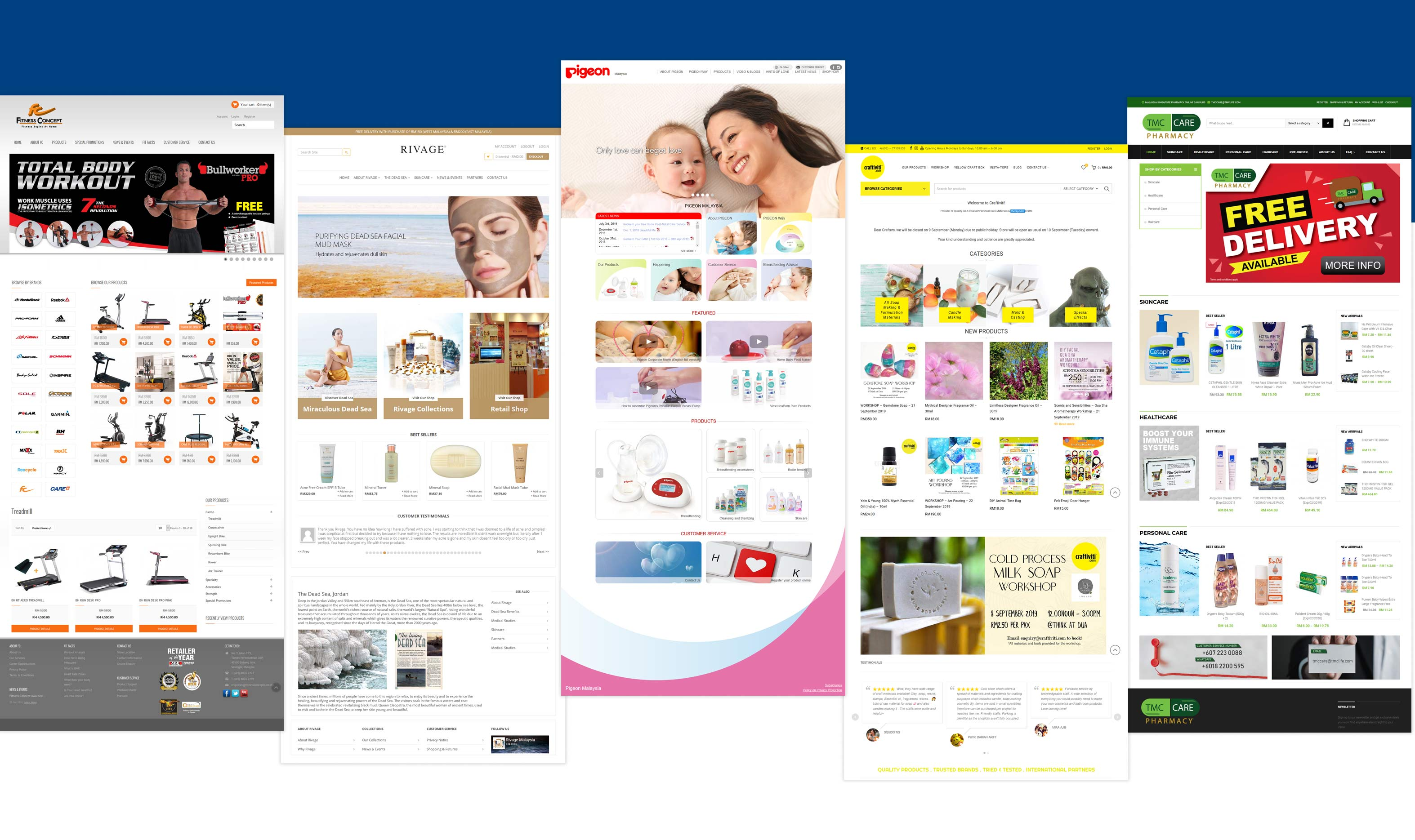 High Performance Ecommerce Website Malaysia