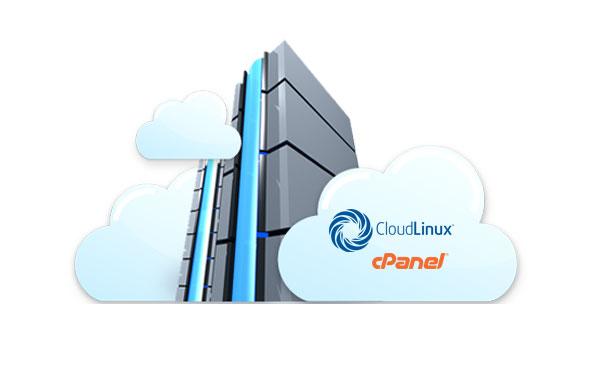 cloudlinux cpanel server
