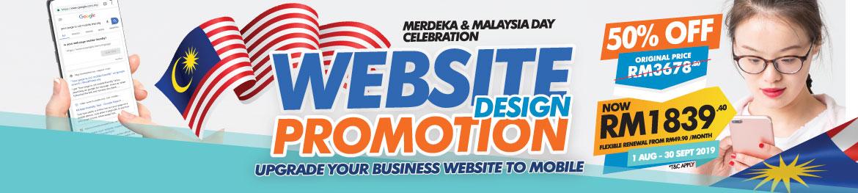Malaysia Website Design Sale